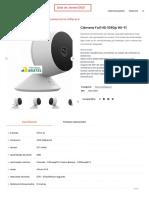 Câmera Full HD 1080p Wi-Fi  Geonav Custos Gravacao na Nuvem