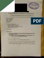 Clinton Lawyers Petition Speaker