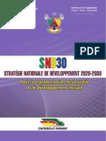 SND30 Stratégie Nationale de Deveppement 2020 2030