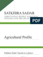 SATKHIRA SADAR Agriculture