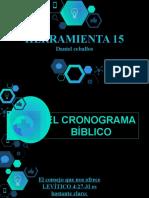 HERRAMIENTA - El CRONOGRAMA BIBLICO