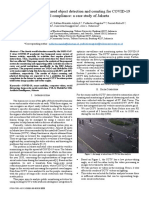 A computer vision-based object detection and counting for COVID-19 protocol compliance