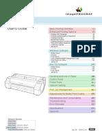 IPF 770 User Manual