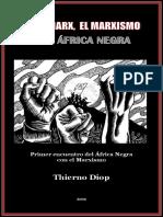 Karl Marx El Marxismo y El Africa Negra