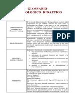 04 Glossario Metodologie Didattiche