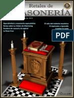 Retales Masoneria Numero 087 - Septiembre 2018