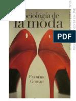 Sociología de La Moda - F.godart (Edhasa 2012)