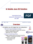 III Mobile 3D Engine Introduction 11052007