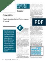 Developing a custom intergrated processor