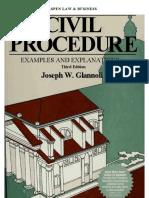 Joseph W. Glannon - Civil Procedure Examples and Explanations (1997, Aspen Law & Business) - libgen.lc