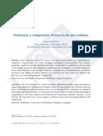 2) Prefixação e composição Verba 41 (2014)