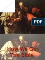 How We Got the Bible 3 - Version 2.0