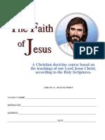 Faith of Jesus - Student Edition