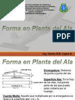 T3 FORMA EN PLANTA DEL ALA