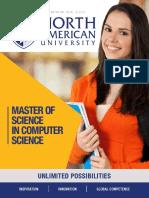 Master of Computer Science Brochure