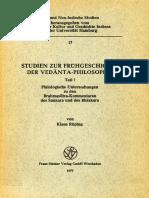 Fruehgeschichte Der Vedanta-philosophie. Teil I. (ANIS, 17)(K.ruping)(Wiesbaden,1977)
