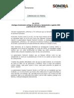 06-01-21 Atestigua Gobernadora entrega de vehículos y equipamiento a agentes AMIC y personal de la FGJE Sonora
