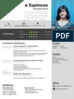 Curriculum Vitae-Katherine Espinosa