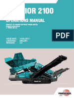 Warrior 2100 Operations Manual Revision 3.0 (English)