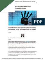 Considerations for ServiceNow Edge Encryption [Analysis] _ Acorio - Reader Mode