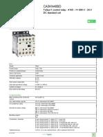 TeSys Control Relays_CA3KN40BD