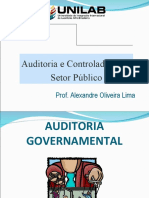Slides Semestre - Auditoria e Controladoria - Aula 5 - Auditoria Governamental - AO