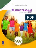 Plan de Trabajo 2021 - Ministerio Infantil