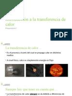 Preparaduría I - Introducción a La Transferencia de Calor