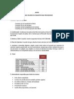 Anexo 3 Convenio Seguros de Garantia Para Proveedores