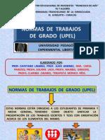 NORMAS UPEL