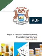Prescription Drug Task Force Report