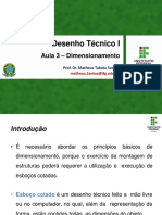 Aula 3 – Dimensionamento - DeSTEC I
