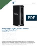 Trednet router manual