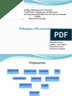 pedagogia y micro-enseñanza