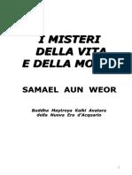1962 i Misteri Della Vita e Della Morte Samael Aun Weor