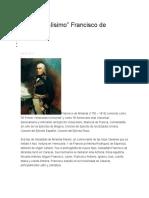 Elgeneralismo de francisco