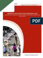 ProyectoEducativoProgramaDefinitivo PEP 2017