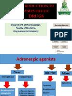 05-Adrenergic  Agonists  dr hala 2020