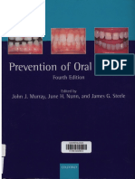 Prevention of Oral Diseases