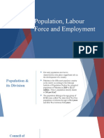 population and labor force presentation
