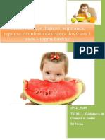 Manual da UFCD_9184_Saúde, Nutrição, Higiene, Segurança, Repouso e Conforto Da Criança Dos 0 Aos 3 Anos – Regras Básicas_índice