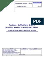 Protocolo de Nutricion Enteral en Pacientes Criticos 20160120