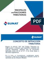 SUNAT - Principales Infracciones Tributarias