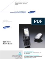 samsung dh600 manual