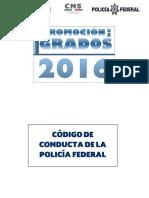 Código de Conducta de La Policía Federal