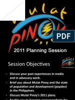 Mulat Pinoy Planning Session Presentation