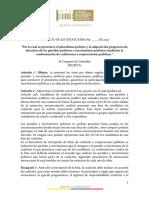 PL 150-20 Estatutaria Coaliciones