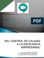 DEL CONTROL DE LA CALIDAD A LA EXCELENCIA junio 2020