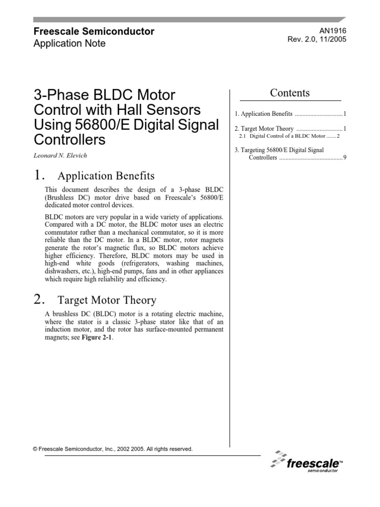 Comfortable Electric Motor Control Theory Photos - Electrical ...