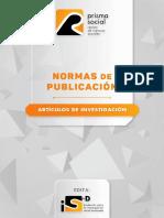 NORMAS REVISTA PRISMA SOCIAL